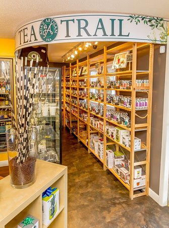 Ballston Spa, Нью-Йорк: Ada's Artisan Certified Organic Loose Leaf Tea Trail