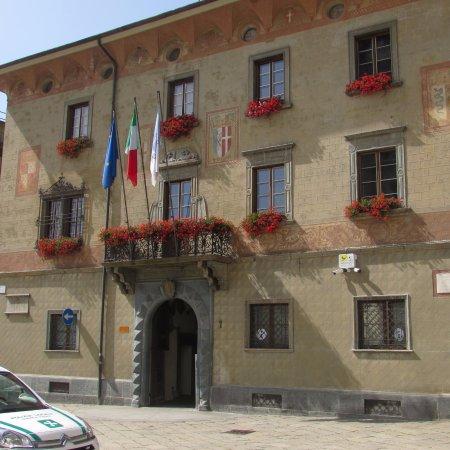 Sondrio, Italie : palazzo pretorio