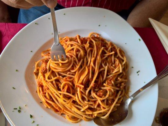 Hadamar, Deutschland: Spaghetti Bolognese - September 2017