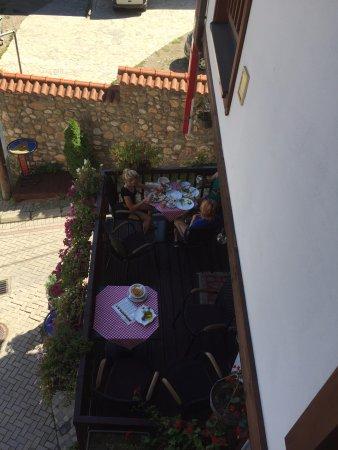 Breakfast terrace - very pleasant
