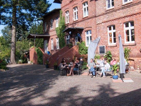 Ueckermünde, Duitsland: Terrasse