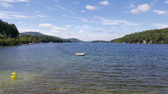 Alton Bay, NH: Lake view