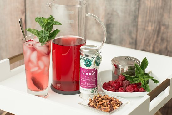 Ballston Spa, Nowy Jork: Raspberry Ripple is one of our best selling teas.