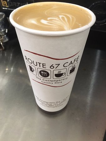 Ballston Spa, État de New York : Smooth lattes