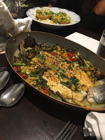 Potomac, MD: Sea Bass for Two Presentation