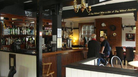 Danbury, UK: Part of the bar area