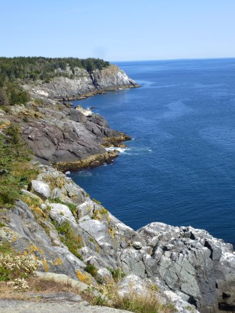 Boothbay Harbor, ME: View from end of Whitehead trail