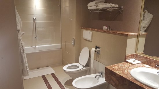 Crowne Plaza Toulouse: Bathroom