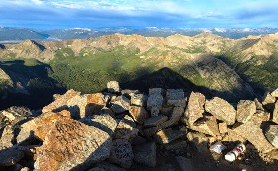 Buena Vista, CO: top of Huron Peak