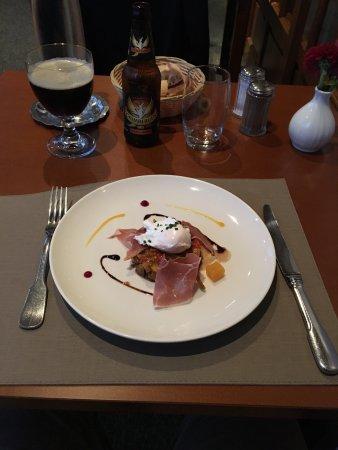 Thouars, France: Entrée menu 19.50