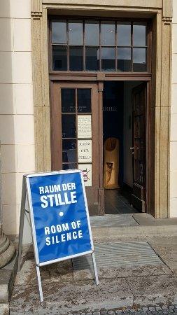 Raum Der Stille Picture Of Raum Der Stille Am Brandenburger Tor Berlin Tripadvisor