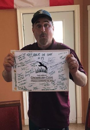 Lakeside, Canada: Flag signed by All the Competitors
