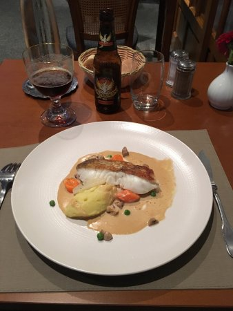 Thouars, France: Plat menu 19.50