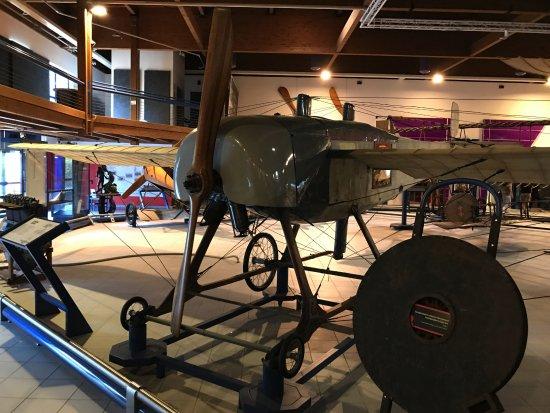 Museo dell'Aeronautica Gianni Caproni : Interno del Museo