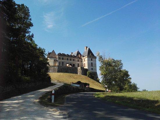 Biron, Francia: Het kasteel