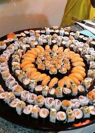 Salgueiro, PE: Bancada de Sushi