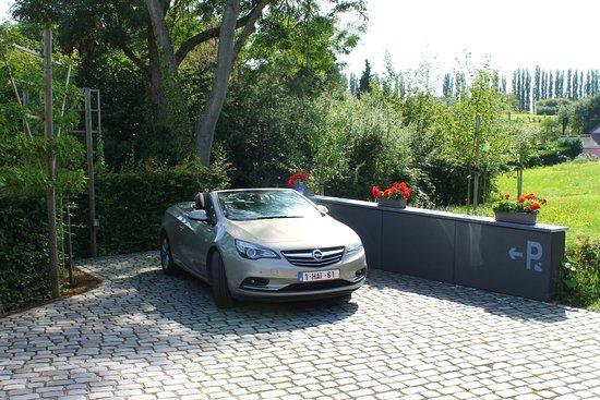 Braine-Le-Chateau, Bélgica: Personal park place on site