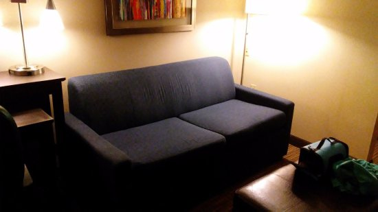 Holiday Inn Express & Suites: Queen Sized Sleeper Sofa