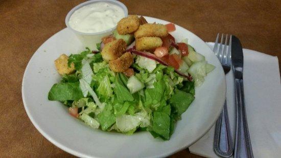 Carson City, NV: Side Salad w/bleu cheese dressing