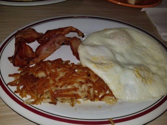 Westwego, LA: bacon, eggs, etc