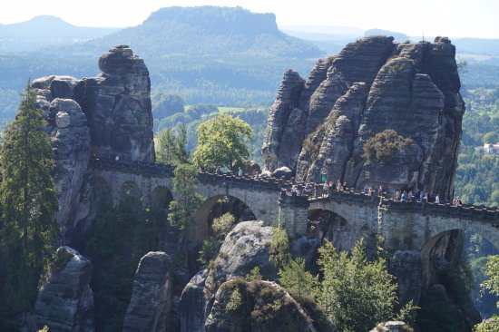Hotel Ostrov: Bastei Bridge, Germany