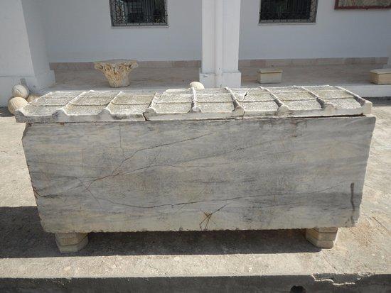 Carthage, Tunisien: саркофаг