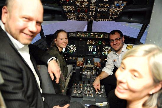 simINN - Flugsimulator Stuttgart