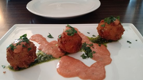 Ellsworth, ME: Arancini Di Rosi - Lunch