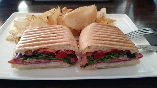 Ellsworth, ME: Italian Meat Panini - Lunch