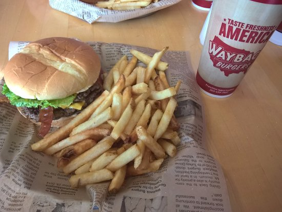 Wadsworth, OH: Burger, Fries, Coke - $11+