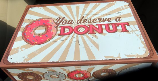 Munster, IN: yes, you do deserve a donut