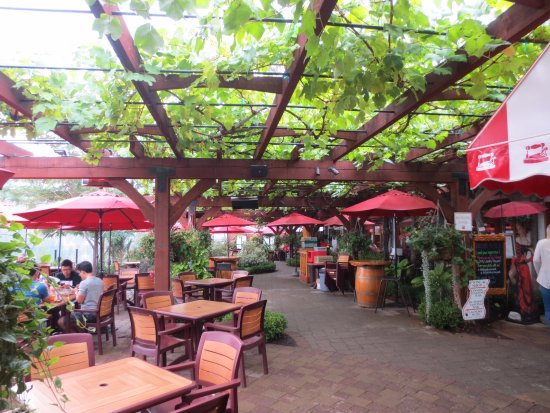 Summerland, Canada: Lovely Patio