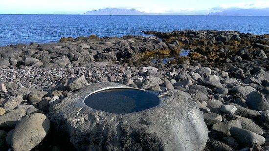 Seltjarnarnes, Iceland: thermal foot bath