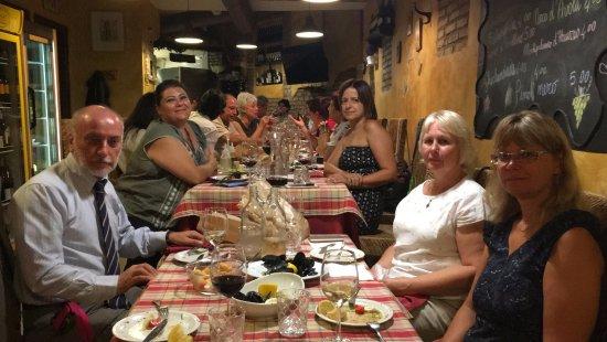 Ardea, Italy: indimenticabile cena con docenti , evento internazionale