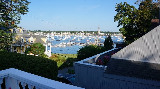 Marblehead, MA: what we see from the 2nd floor patio