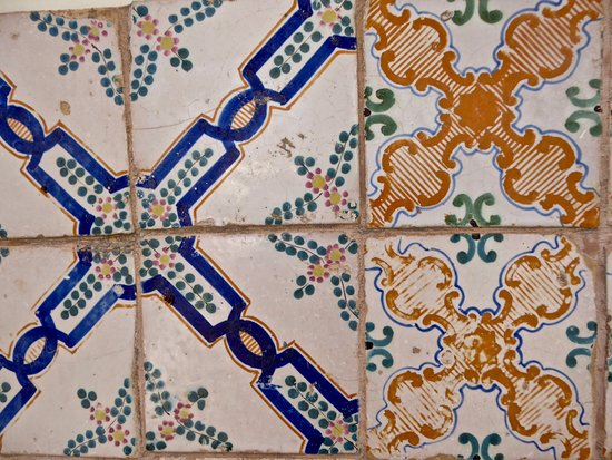 Roof Barocco Suite B&B: Tiles on roof terrace