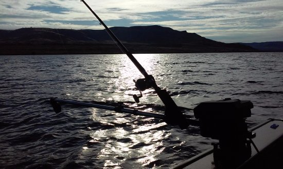 Coulee Dam, WA: Taken on Lake Roosevelt While Kokannee Fishing this year