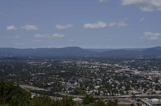 View of the Roanoke Valley