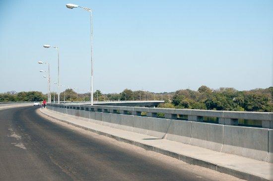 Katima Mulilo Bridge over the Zambezi at Sesheke