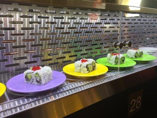 Awesome Conveyor Belt Picture Of Rockin Rolls Sushi Durham