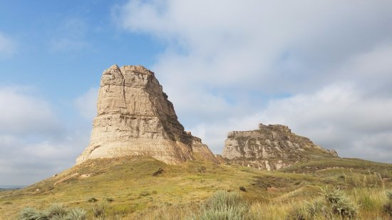 Bridgeport, NE: Courthouse and Jail Rocks