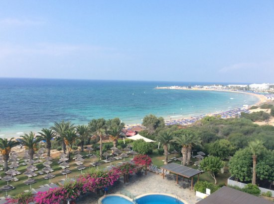 Alion Beach Hotel: Breathtaking view from our balcony
