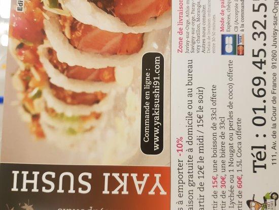 Ta Img 20170913 221502 Large Jpg Picture Of Yaki Sushi Juvisy