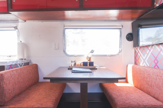 Classic Airstream Style - Picture of Hart's Camp Airstream