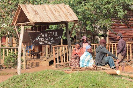 Kisoro, Uganda: Wagtail Lodge entry