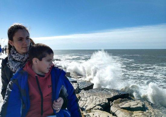 Parque Gral San Martin: Aun con viento se disfruta