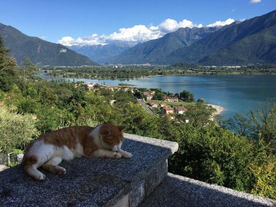 Trezzone, Italia: View from the terrace