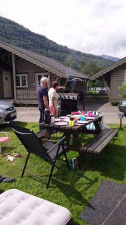 Kinsarvik, Norway: You can borrow grill for free