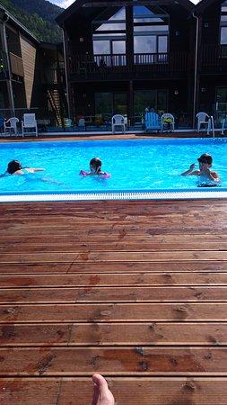 Kinsarvik, Norvège : Swimmingpool, warm all year