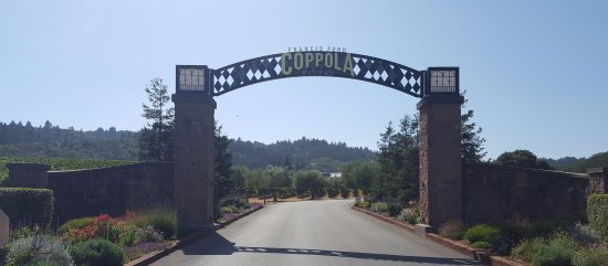 Geyserville, CA: Entrance
